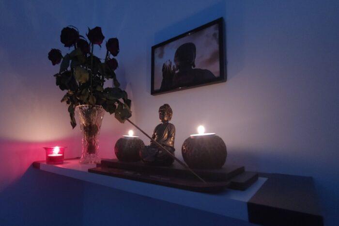 postavitev prostora - energijska terapija